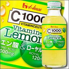 ハウス C1000ビタミンレモン クエン酸&ローヤルゼリー140ml×1ケース(全30本)【HOUSE】【ハウスウェルネスフーズ】