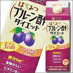タマノイ酢 はちみつプルーン酢ダイエット(3〜5倍濃縮タイプ)500ml ×1ケース(全12本)