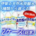 【送料無料】サンガリア 伊賀の天然水炭酸水500ml5種類よ...