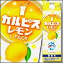 アサヒ カルピス レモンLパック1L×1ケース(全6本)