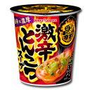 ポッカサッポロ 辛王 激辛とんこつスープカップ18.9g×4ケース(全24本)