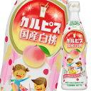 【送料無料】アサヒ カルピス国産白桃470mlプラスチックボトル×2ケース(全24本)