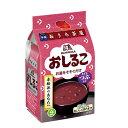 【送料無料】森永 おしるこ4袋入×1ケース(全20本)