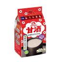 ショッピング同梱 森永 甘酒4袋入×1ケース(全20本)
