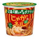 【送料無料】ポッカサッポロ じゃがネル ピザ味カップ27.8g×3ケース(全18本)