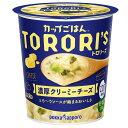 【送料無料】ポッカサッポロ カップごはんトロリーズ 濃厚クリーミーチーズカップ56.1g×3ケース(全18本)