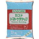 ショッピングカゴ 【送料無料】カゴメ トマトケチャップ特級3kgフィルムパック×1ケース(全4本)