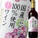 マンズワイン 国産ぶどう100...