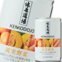 【送料無料】サンスター 健康道場 果汁入り黄実野菜160g缶×1ケース(全30本)