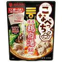 ミツカン こなべっち 濃厚鶏白湯鍋つゆ(28g×4)×1ケース(全20本)