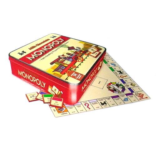 モノポリー チョコレート缶ミニチョコレート24枚入(108g)※ラッピング不可【賞味期限2019年8月31日】