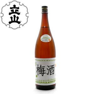 【お取り寄せとなります】立山 梅酒1800ml