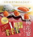 【送料無料】うめ屋 梅花宴(ばいかえん)五味セット 金賞・銀賞5種詰め合わせ 05P03Dec16