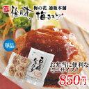 湯葉 豆腐 梅の花ミニ 豆腐 ハンバーグ (5個入) ≪冷凍≫卵・乳 不使用