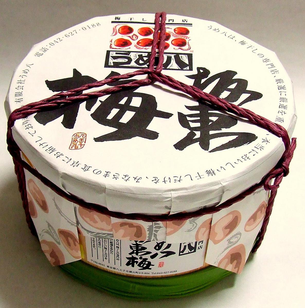 【送料無料】うめ八坂東梅タル入り1.4kg【送料...の商品画像