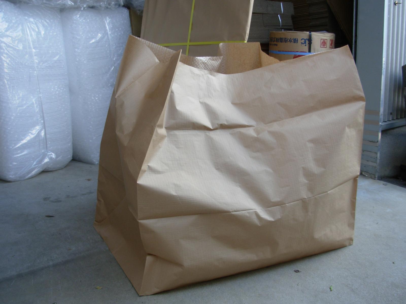 布団袋(PEクロス紙製)シングル用800H 50枚の商品画像