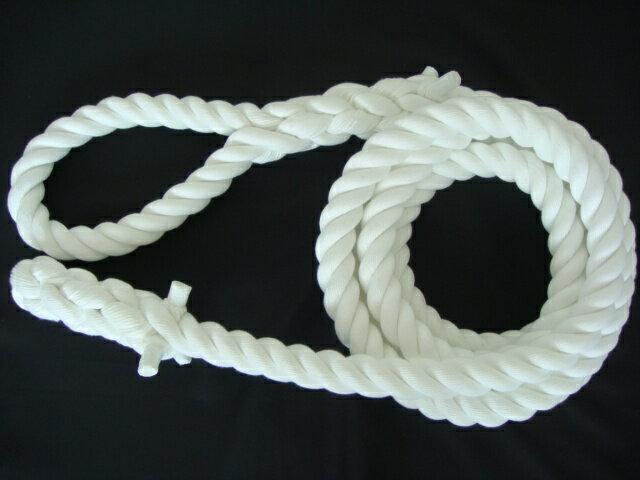 トレーニングロープ/ターザンロープ/登り綱/クレモナ製ターザンロープ(登り綱) 28mm×2M