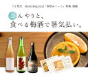 ミーツコラボ こだわり梅酒720ml 3本セット 夏のデザート オリジナルレシピ付き
