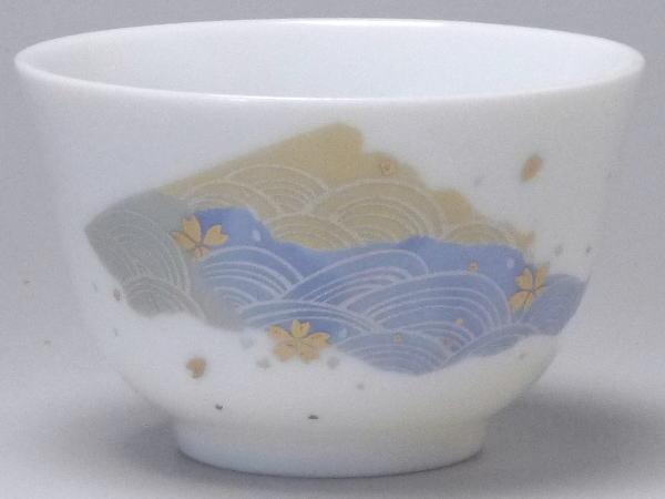 【B級品】三角波/親子うさぎ 小さな千茶(湯呑み...の商品画像