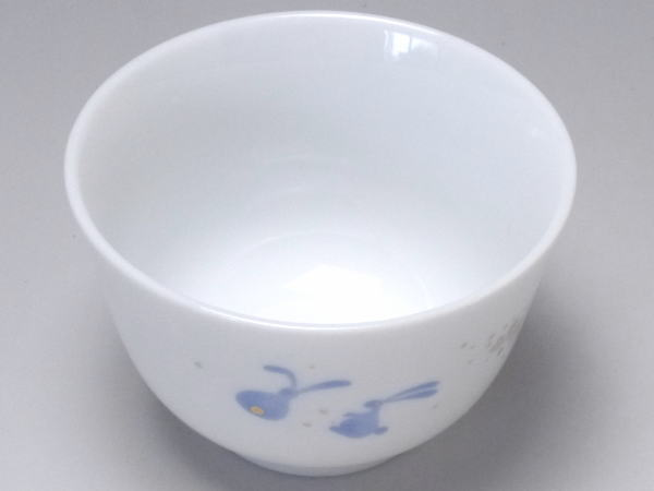 【B級品】三角波/親子うさぎ 小さな千茶(湯呑...の紹介画像2