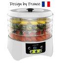 フランスで、デザインされたお洒落なフードドライヤー ウミダスジャパン 食品乾燥機 FD880E【安心1年保証】高床式デザイン