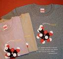 ブドウ糖分子模型Tシャツ mokuren-design