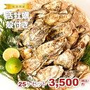 ★松島湾産 活牡蠣殻付き 25ヶセット(加熱調理用)★