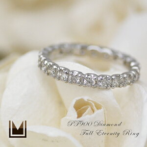 ダイヤモンド フルエタニティリングピンキーリング ダイアモンド カラット キャラット フルエタニティー エンゲージリング