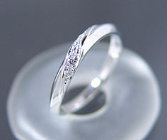 PT900 Lady's wedding rings (wedding ring) (PM0013)