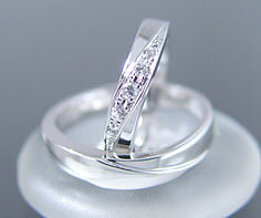 PT900 Lady's and Men's wedding rings (wedding ring) (MS0019)