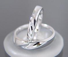 マリッジリング ダイヤモンド 「Line」 プラ...の商品画像