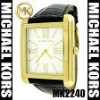 【あす楽(訳あり)】【即日配送】【在庫あり】【人気上昇ブランド】マイケルコース Michael Kors 腕時計 MK2240【セレブ愛用】