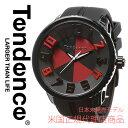 【海外取寄せ】【今だけ限定価格】【日本未発売モデル】TENDENCE テンデンス 腕時計 時計 ラウンドガリバー 05023010AA ブラック