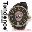 【海外取寄せ】【今だけ限定価格】【米国正規代理店商品】TENDENCE テンデンス 腕時計 時計 ガリバー スカル ICON SKULL TG330002 ブラック ローズゴールド