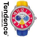 テンデンス 時計 TENDENCE テンデンス 腕時計 インポート レディース メンズ T0460408 TG460408 TDT0460408 CRAZY クレイジー クリスタル あす楽 送料無料