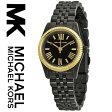 【海外取寄せ】マイケルコース Michael Kors 腕時計 MK3299【セレブ】【ブラック&ゴールド】MK3273 MK3270 MK3229 MK3230 MK3285 MK3284 MK3228 同シリーズ