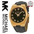 【海外取寄せ】マイケルコース Michael Kors 腕時計 ウォッチ MK2358【セレブ】【ブランド】【インポート】【ブラックレザー】MK2356 MK2357 MK2355同シリーズ