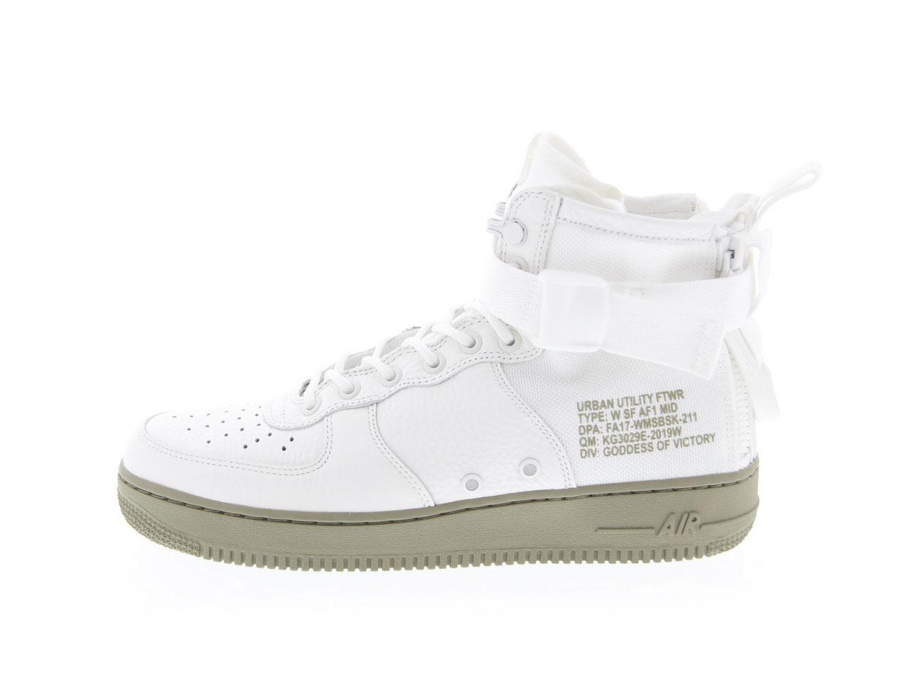 【特価】NIKE W SF AF1 MID(aa3966-100)IVORY-MARS STONE【ナイキ ウィメンズ スペシャルフィールド エアフォースワン ミッド】【メンズファッション】【ナイキスニーカー】【靴】
