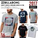 30%OFFセール メンズ ビラボン Tシャツ 半袖 BILLABONG 2017 新作 ネコポス送料無料 レギ
