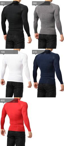 アンダーアーマー スポーツ インナー 長袖 1289559 ヒートギア アンダーシャツ コンプレッション LSモック メンズ トレーニングウェア UNDER ARMOUR
