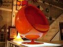 ヴィンテージボールチェア オレンジ エーロアールニオ/Eero aarnio adelta/アデルタ asko/アスコを探している方にも【中古】