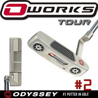 ODYSSEY【オデッセイ】O-WORKS TOUR パター #2 シルバーバージョン【オーワークスツアー】の画像