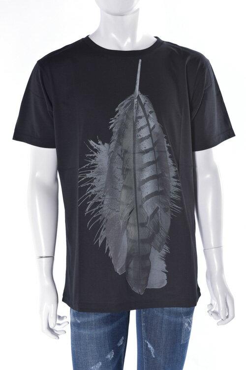 マルセロバーロン MARCELO BURLON Tシャツ 半袖 丸首 メンズ DM1015 01 ブラック 送料無料 楽ギフ_包装 アウトレット