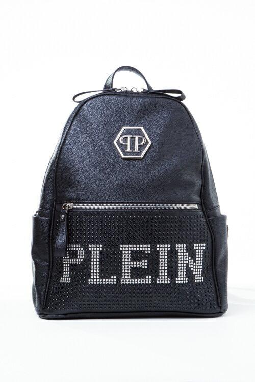 2016年秋冬新作 フィリッププレイン PHILIPP PLEIN リュックバッグ リュックサック カバン 鞄 FW16 AM922191 ブラック 送料無料