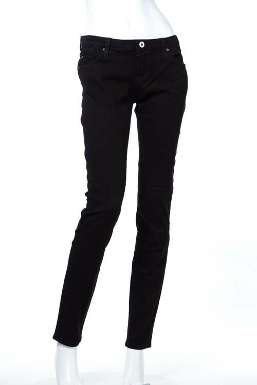 2016年秋冬新作 アルマーニジーンズ ARMANI JEANS ジーンズパンツ ブラックデニム ジーパン J06 LOTUS SKINNY FIT レディース 6X5J06 5DZCZ ブラック 送料無料 楽ギフ_包装