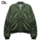 2019 NEW YEAR SALE ★ 30% - 80%OFF CHAPTER (チャプター) MONT BOMBER JACKET (OLIVE) [ボンバージャケット/ブルゾン/シャーリング/ミ..