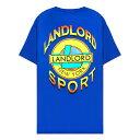 LANDLORD NEW YORK (ランドロード) LANDLORD SPORT T-SHIRT (BLUE) [Tシャツ カットソー メンズ ユニセックス] [ブルー]
