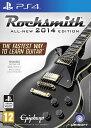 PS4 Rocksmith 2014 ロックスミス リアルトーンケーブル同梱 輸入版