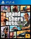 【新品】Grand Theft Auto V グランドセフトオート5 PS4 輸入 北米版
