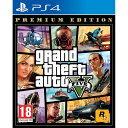 【取り寄せ】Grand Theft Auto V Premium Edition PS4 輸入版